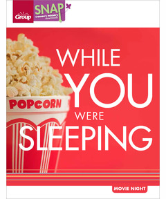 While You Were Sleeping Movie Night (pdf download)