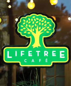 Lifetree Cafe LED Illuminated Sign