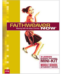 FaithWeaver NOW Mini-Kit - Additional Middle School Student Books - 10 pack