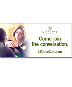 Lifetree Cafe Outdoor Banner