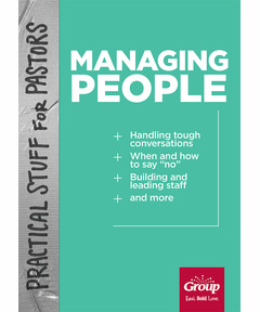Practical Stuff for Pastors: Managing People