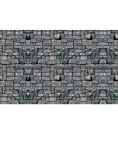 Stone Wall Plastic Backdrop