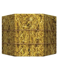 Hay Bale Photo Prop