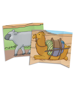 Camel/Sheep Tri-Fold