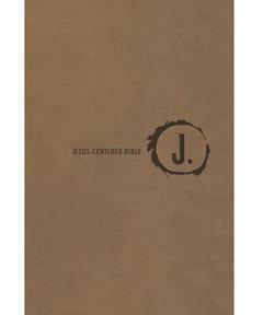 Jesus-Centered Bible NLT, Saddle