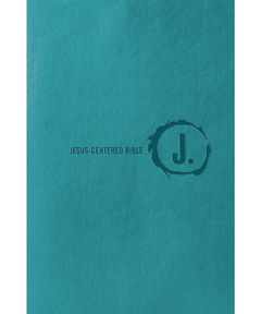 Jesus-Centered Bible NLT, Turquoise
