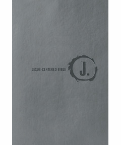Jesus-Centered Bible NLT, Charcoal