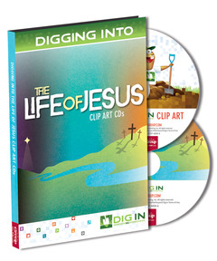 DIG IN, Life of Jesus Clip Art CD