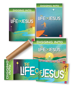 DIG IN, Life of Jesus Giant Decorating Posters