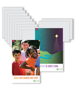 DIG IN, Life of Jesus Elementary Bible Point Posters: Quarter 1