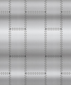 Riveted Metal Plastic Backdrop