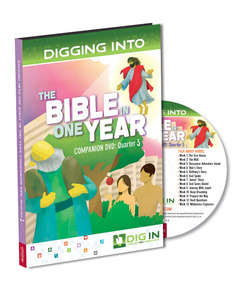 DIG IN, The Bible in One Year Companion DVD: Quarter 3