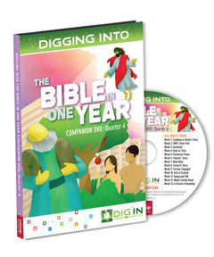 DIG IN, The Bible in One Year Companion DVD: Quarter 4
