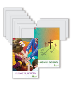 DIG IN, Life of Jesus Elementary Bible Point Posters: Quarter 3