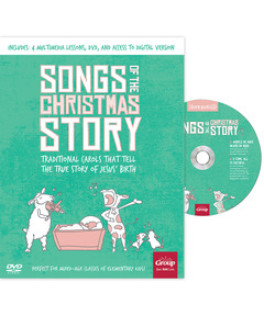 KidMin Quick Picks: Songs of the Christmas Story (book with DVD)