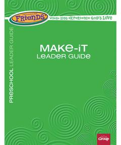 FaithWeaver Friends Make-It Leader Guide - Winter