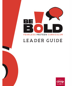 BE BOLD Leader Guide - Fall