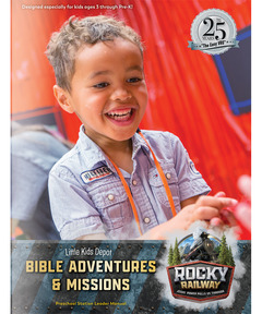 Downloadable Little Kids Depot Bible Adventures & Missions Leader Manual