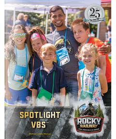 Downloadable Rocky Railway Spotlight VBS Leader Manual