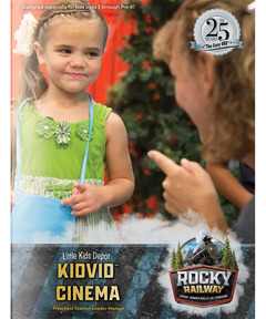 Little Kids Depot KidVid Cinema Leader Manual