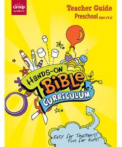 Hands-On Bible Curriculum Preschool Teacher Guide - Fall 2020