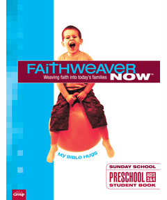 FaithWeaver NOW Preschool Student Book - Winter 2020-21
