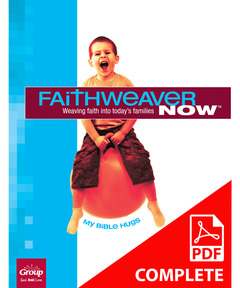 FaithWeaver NOW Preschool Student Book Download, Winter 2020-21