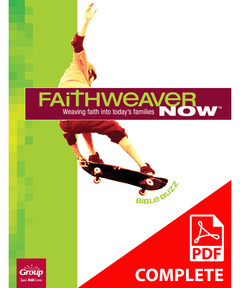 FaithWeaver NOW Grades 5 & 6 Student Book Download, Winter 2020-21