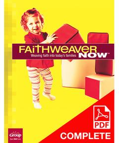 FaithWeaver NOW Infants, Toddlers, & 2s Teacher Guide (Download) Winter 2020-21