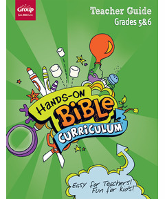 Hands-On Bible Curriculum Grades 5&6 Extra Teacher Guide – Winter 2020-21