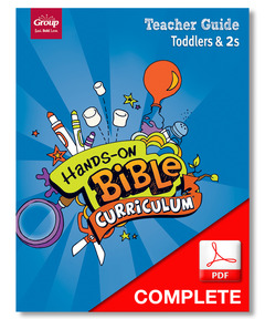 Hands-On Bible Curriculum Toddlers & 2s Teacher Guide Download, Winter 2020-21