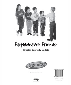 FaithWeaver Friends Director Quarterly Update - Winter 2020-21