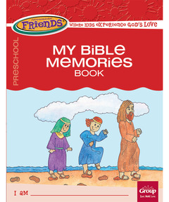 FaithWeaver Friends Preschool Student Book - Winter 2020-21