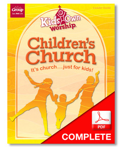 KidsOwn Worship Leader Guide Download, Winter