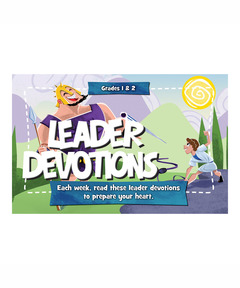 Buzz Grades 1&2 Clash Leader Devotions - Spring 2021