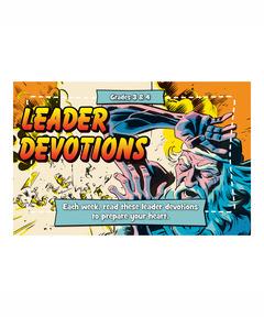 Buzz Grades 3&4 Tempest Leader Devotions - Spring 2021