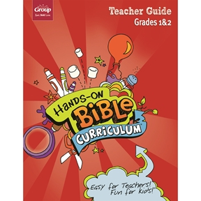 Hands-On Bible Curriculum Grades 1&2 Extra Teacher Guide – Spring 2021