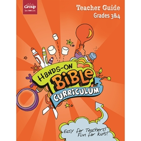 Hands-On Bible Curriculum Grades 3&4 Extra Teacher Guide – Spring 2021
