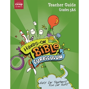 Hands-On Bible Curriculum Grades 5&6 Extra Teacher Guide – Spring 2021