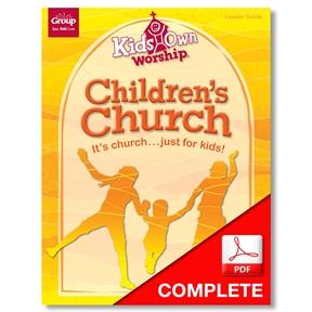 Kids Own Worship Leader Guide Download Spring 2021
