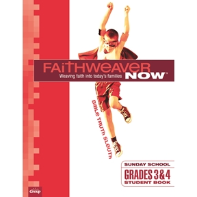 FaithWeaver NOW Grades 3&4 Student Book - Spring 2021