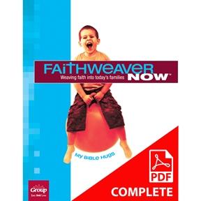 FaithWeaver NOW Preschool Student Book Download, Spring 2021