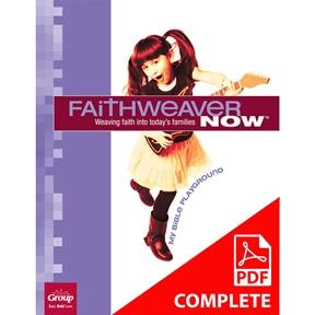 FaithWeaver NOW Pre-K & K Student Book Download, Summer 2021