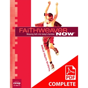 FaithWeaver NOW Grades 3&4 Student Book Download, Summer 2021