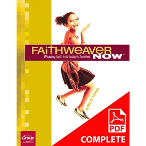 FaithWeaver NOW Middle School Student Book Download, Spring 2021