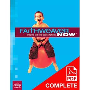 FaithWeaver NOW Preschool Teacher Guide (Download), Spring 2021