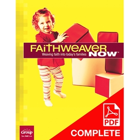 FaithWeaver NOW Infants, Toddlers, & 2s Teacher Guide (Download), Summer 2021