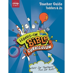 Hands-On Bible Curriculum Toddlers & 2s Extra Teacher Guide – Summer 2021