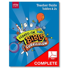 Hands-On Bible Curriculum Toddlers & 2s Teacher Guide Download, Summer 2021