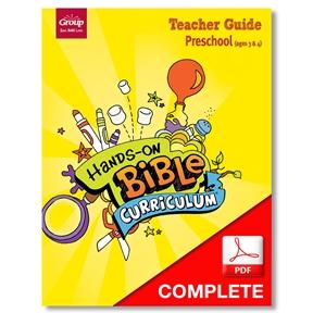 Hands-On Bible Curriculum Preschool Teacher Guide Download, Summer 2021